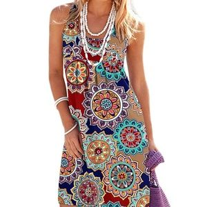 B/&B Lizzy 60/'s Sun Dress